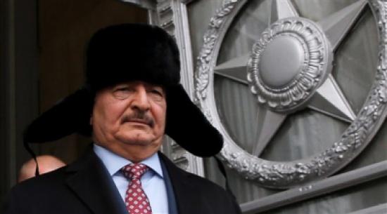 صحيفة: حفتر ربما منح الروس قاعدة في ليبيا