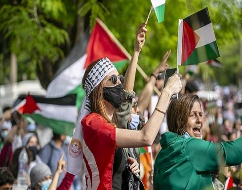 تضامن شعبي عربي مستمر منذ اليوم الأول من العدوان الإسرائيلي