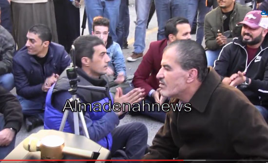 شاهد .. الاردن : اعتصام امام الرابع ضد الضريبة