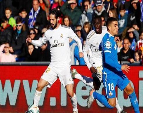 ريال مدريد يعود لطريق الانتصارات على حساب خيتافي