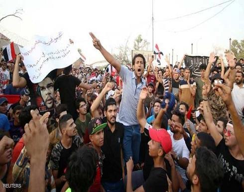"""قتيل بتظاهرات جنوب العراق.. و""""مكافحة الشغب"""" تتدخل في بغداد"""