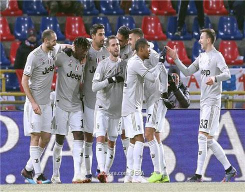 يوفنتوس يعبر لربع نهائي كأس إيطاليا