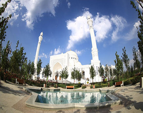 """الشيشان تفتتح """"أكبر وأجمل"""" مسجد في أوروبا (شاهد)"""