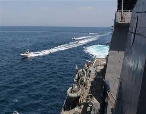 الحرس الثوري تحرّش بسفينتين أمريكيتين في الخليج