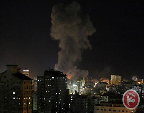 بالفيديو : طائرات الاحتلال تقصف مواقعا شمال قطاع غزة