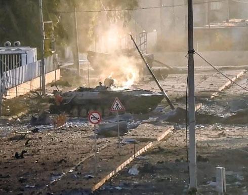 الموصل : القوات العراقية والميليشيات تفر من حي الوحدة  بعد تدمير 26 آلية