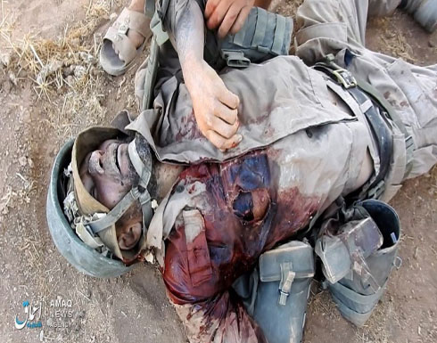 """""""تنظيم الدولة"""" يعلن عن مقتل جندي روسي بريف حماة"""