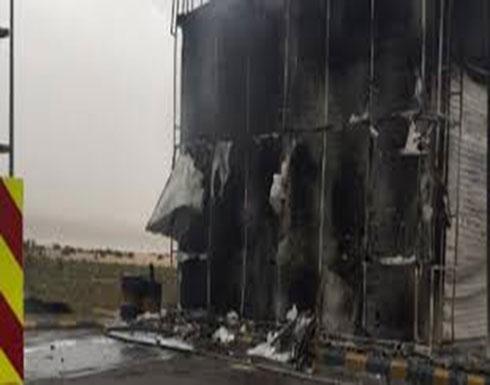بالفيديو : السعودية..  هجوم على  نقطة أمنية بالمنطقة الشرقية
