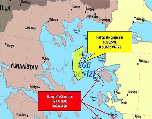 مصادر عسكرية تركية: اليونان تواصل تصعيد التوتر في بحر إيجة