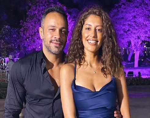 للمرة الثانية .. محمد عطية وميرنا الهلباوي يحتفلان بخطوبتهما .. شاهد