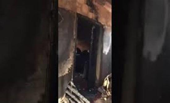 شاحن هاتف يتسبب في إشعال النيران داخل منزل بمكة المكرمة (فيديو)