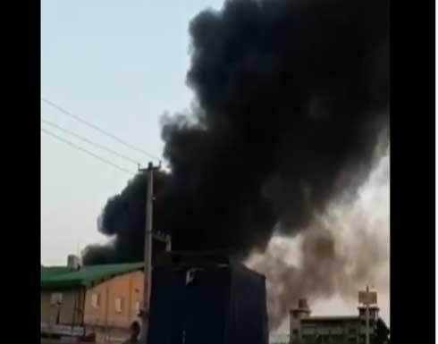 إيران.. انفجار في مبنى حكومي شمال طهران