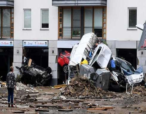 شاهد : أكثر من 120 وفاة وآلاف المفقودين في فيضانات ألمانيا وبلجيكا