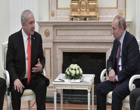 بوتين ونتنياهو يبحثان الأوضاع في سوريا