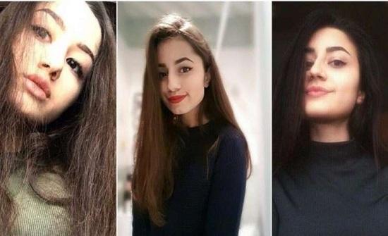 شاهد.. ردة فعل إحدى الفتيات الثلاث أثناء قتلهن أباهن في موسكو