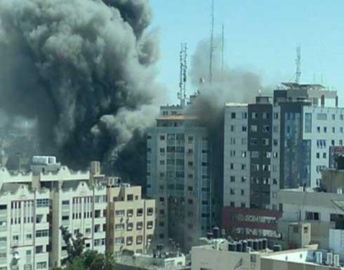 حماس ترد على نتنياهو وتنفي وجود مكاتب لها في برج الجلاء بغزة