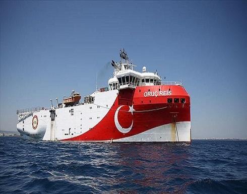 """وصول سفينة التنقيب التركية """"أوروتش رئيس"""" شرق المتوسط"""
