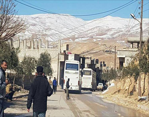 إجلاء مقاتلي وادي بردى والنظام يعلن السيطرة