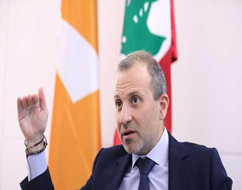 باسيل: الرئيس عون لم يهدف لسحب التكليف من الحريري