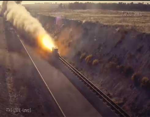 شاهد : تدمير أثقل قنبلة تركية لجدار اسمنتي مسلح بسمك مترين ونصف
