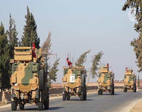 الجيش التركي يرسل 6 أرتال عسكرية ضخمة إلى إدلب