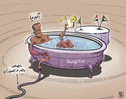 إثيوبيا تتحكم في حصص مصر والسودان المائية