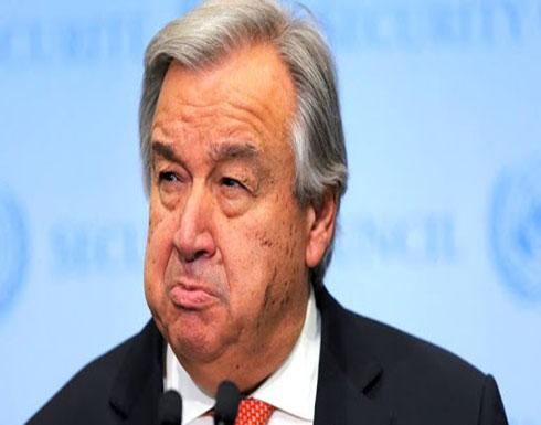 الأمين العام للامم المتحدة يبدي قلقه من المواجهة بين الجيشين السوري والتركي