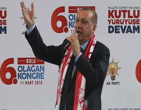 أردوغان ينتقد الحلف الأطلسي لعدم دعمه حملة تركيا في عفرين