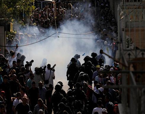 إصابات خلال تفريق الإحتلال الإسرائيلي مسيرات في الضفة الغربية