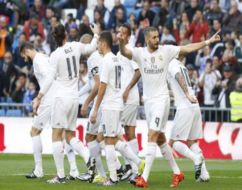ريال مدريد يهدد رقم برشلونة