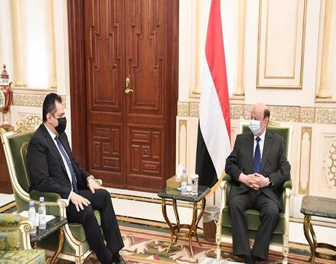 هادي: تنفيذ اتفاق الرياض يهزم مشروع إيران باليمن