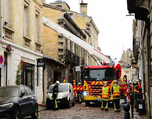 ثلاثة جرحى ومفقودان في انفجار بمبنى في بوردو الفرنسية – (فيديو وصور)