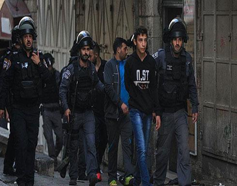 """إسرائيل تعتقل 3 فلسطينيين بالقدس بينهم قيادي في """"فتح"""""""