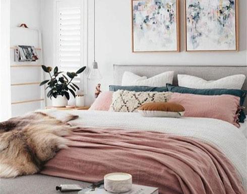 5 ألوان لغرفة نوم مريحة