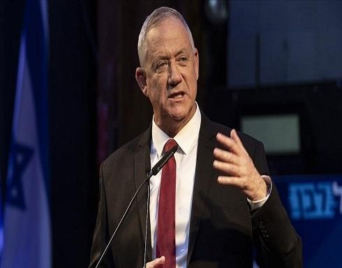غانتس: لا تاريخ محدد لإنهاء الهجمات على غزة