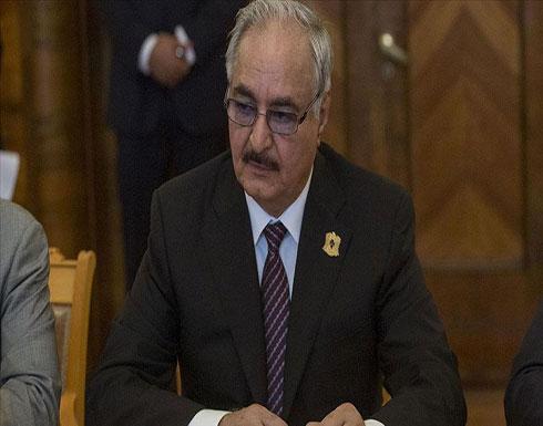حفتر يبدأ رابع زيارة للقاهرة منذ الهجوم على طرابلس