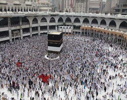 انتحار شخص ألقى بنفسه من سطح المسجد الحرام في مكة- (صور وفيديو)