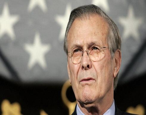 من هو دونالد رامسفيلد .. أحد صناع قرار الحرب الأمريكية على العراق