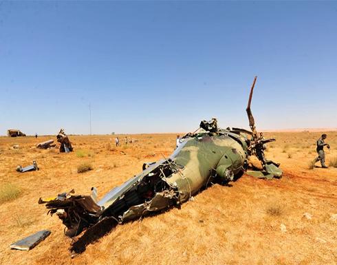 قتلى من المرتزقة الروس جراء سقوط مروحيتهم قرب قاعدة الجفرة وسط ليبيا