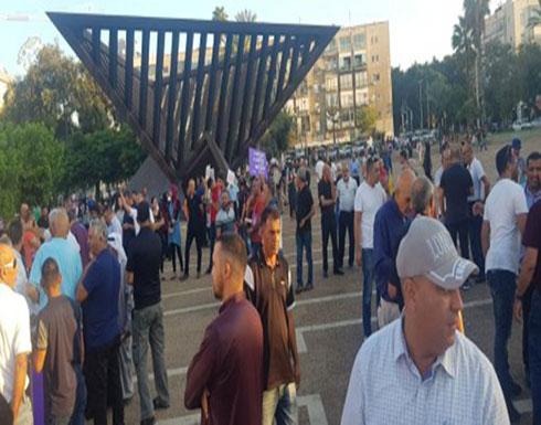 """فيديو : الآلاف في تل أبيب يطالبون باسقاط """"قانون القومية العنصري"""""""