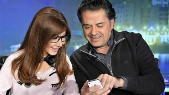 نانسي عجرم تحتفل بعيد ميلادها.. وراغب علامة يحذف تغريدته لها!