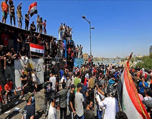 شاهد : تجدد الاحتجاجات بالبصرة والمحافظ يتمسك بمنصبه