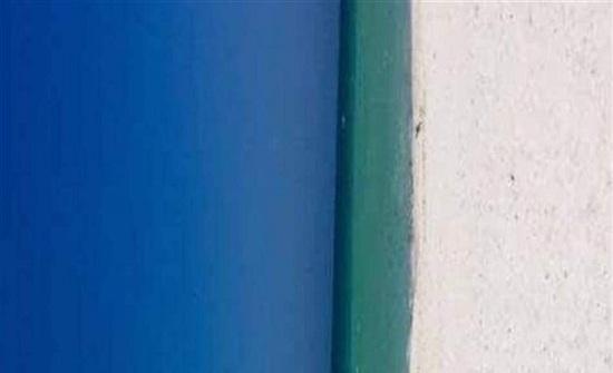 صورة تحير مستخدمي الانترنت.. باب أم شاطئ؟
