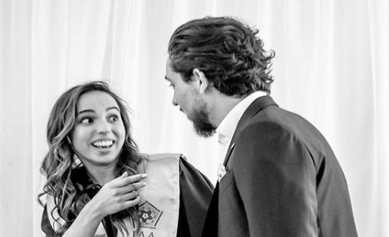 """الحسين لسلمى : ستبقين دائماً أختي الصغيرة """" صورة """""""