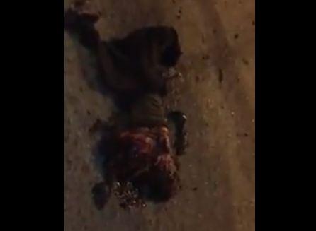 شاهد ... تفجير انتحاري في العاصمة بغداد