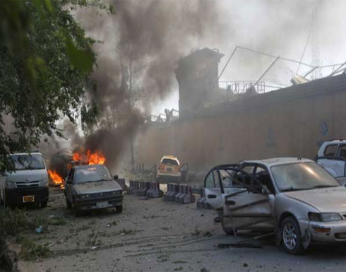 """إعادة افتتاح السفارة الألمانية في كابول في """"حاوية"""""""