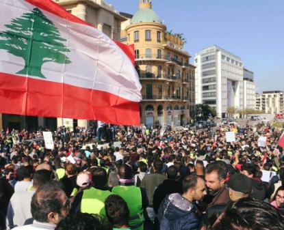 إضراب عام بلبنان بعد تأخر الحكومة