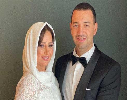 أول ظهور لحلا شيحة ومعز مسعود بعد زواجهما مع العائلة .. شاهد