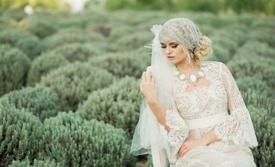 فساتين زفاف كروشيه لعروس الصيف