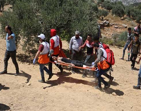 إصابة 20 فلسطينيا برصاص قوات الاحتلال الإسرائيلي جنوب نابلس